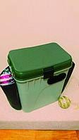 Ящик для зимней рыбалки Акватек 1870 + боковые карманы