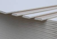 Гипсокартон, потолочный. обычный, 9.5 мм (1.2*2.5) knauf