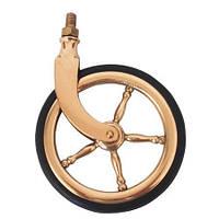 Ролик мебельный поворотный классика KM-31011Z1300-11 золото, фото 1