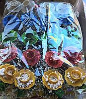 Подставка новогодняя под свечи 20 шт