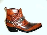 Казаки Etor мужские ботинки табачные