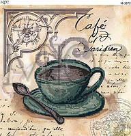 """Схема для вышивки бисером """"Кофе в Париже"""""""
