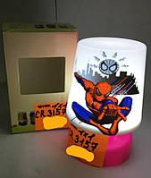 Светильник, ночник детский Спайдермен