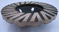 Фреза алмазная торцевая  для шлифовки гранита Turbo 100х23х8/5хM14 № 2 среднее