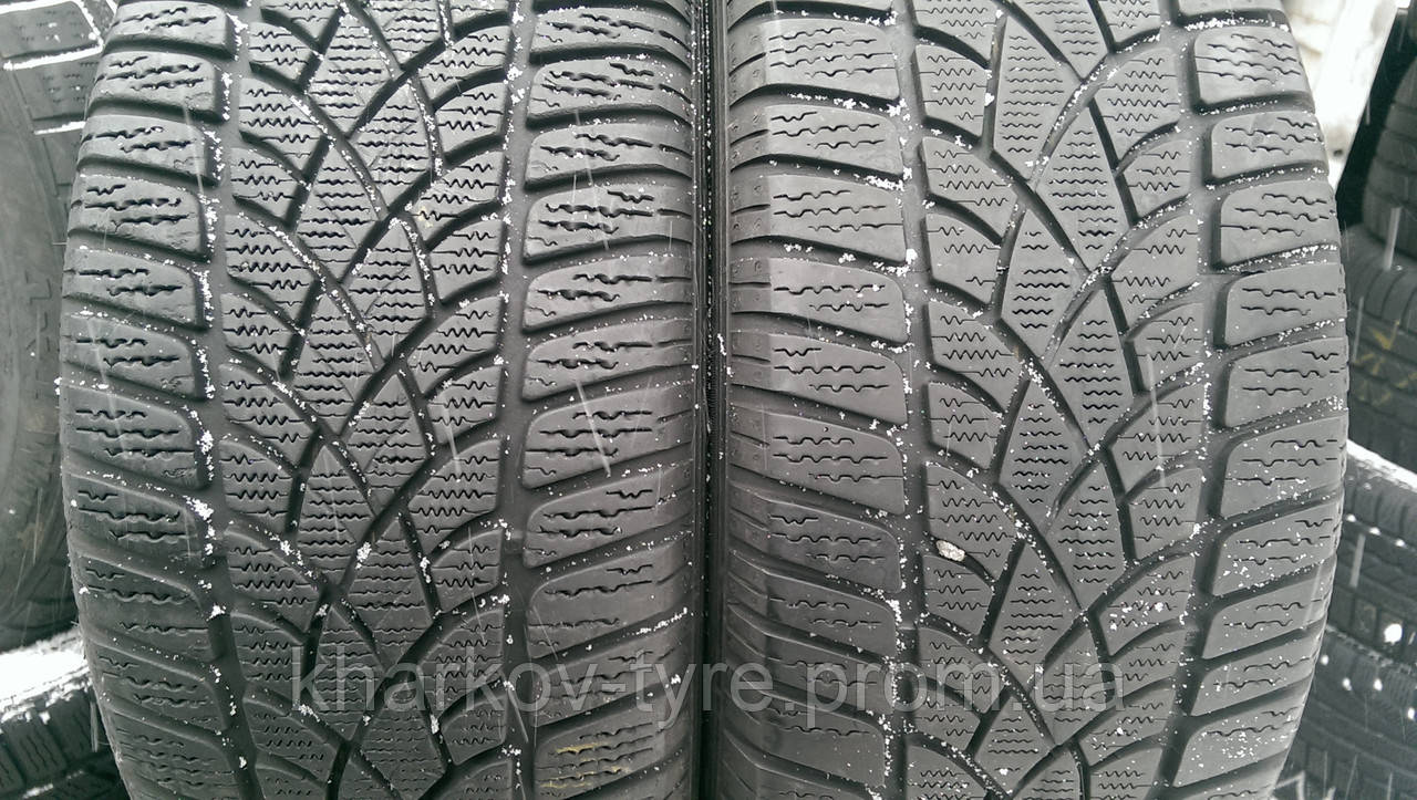 Шины зимние б\у 225\45-17 Dunlop SP WinterSport 3D