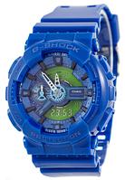Часы унисекс наручные casio g-shock aaa ga-110 blue sk-1006-0509 aaa copy sk (реплика)
