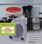 Тепловентилятор обогреватель Wimpex WX-424 (вентилятор, дуйка)., фото 4