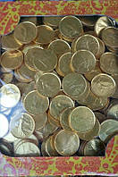 Шоколадные монеты 1.5 кг