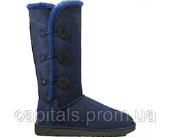 "Женские сапоги UGG Bailey Button Triplet ""Blue"""