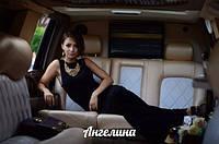 Макси платье с открытой спиной