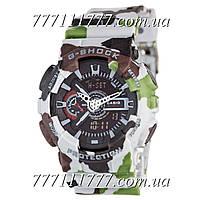 Часы женские наручные Casio G-Shock GA-110 Militari Gray