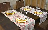 Раннер/дорожка и салфетки (2 шт.+4 шт.) для стола Новогодний Эстайт Набор текстильный на кухню №1 ц