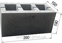 Строительные вибропрессованые стеновые бетонные блоки Бердичев