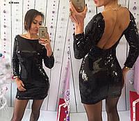 Вечернее платье мини 438 ник