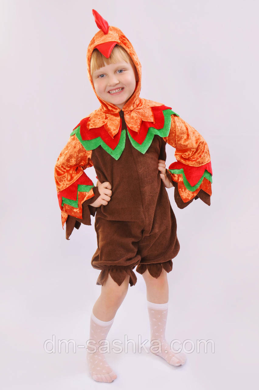 Карнавальный костюм для мальчика Петушок оптом