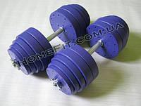 Новые товары на сайте - Гантели разборные Титан ПРО по 20 кг и 34 кг