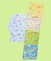 Кофточка для новорожденного на завязках унисекс, фото 1