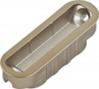 Ответная планка магнитная AGB Mediana Polaris, бронза