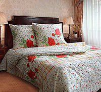 Полуторное постельное белье Марьяна, ТМ Блакит, бязь, нв 70*70