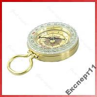 Лёгкий алюминиевый мини компас - пеший туризм !