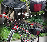 Велосипедный рюкзак - сумка - штаны на багажник