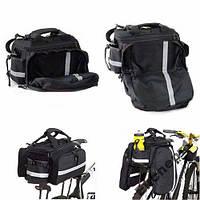 Велосипедный багажник - рюкзак - сумка