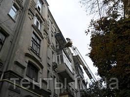 Каркасный навес на балкон