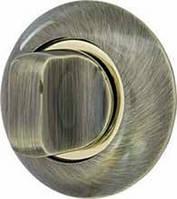 Ручка поворотна WC-BOLT BK6-1AB/SG-6 бронза/матове золото