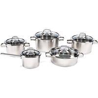 Набор посуды BergHOFF Manhattan из 10 предметов Нержавеющая сталь