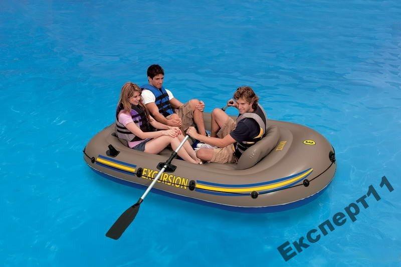 Надувная лодка Intex 68319. Excursion 262х157х42 - Кращі товари для всіх !!! Лучшие товары для всех !!! в Хмельницком