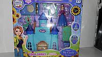Дом для кукол замок принцессы с мебелью
