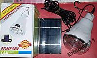 Лампа с аккумулятором и cолнечной батареей GR-020