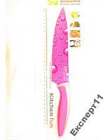 Нож кухонный  длиной 23 см