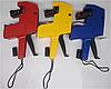 Пистолет для ценников MX-5500 (0123456789 грн шт гр год код ВА роз га арт до . - /) 12х22мм +запасной карт