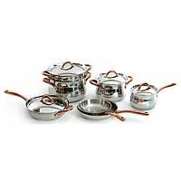 Набор посуды BergHOFF Copper из 11 предметов нерж сталь