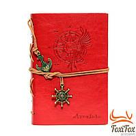 Оригинальный блокнот в кожаной обложке Aventura