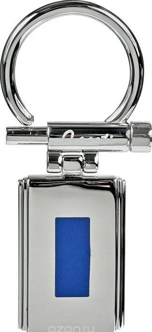 Яркий брелок Caseti CAG30017 (4) серебристый с синим