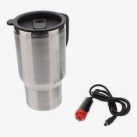 Термокружка с подогревом electric mug stainless steel