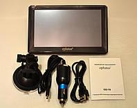 Регистратор GPS навигатор- автомобильный c антирадаром Eplutus GD70
