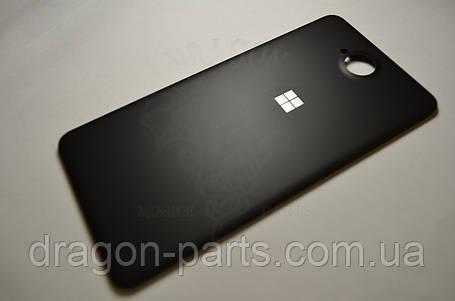 Задняя крышка  Microsoft Lumia 650 черная оригинал , 02510Z8, фото 2
