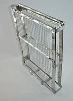 Кассета нержавеющая  (сетка оцинкованная, периметр нержавейка) боковое крепление, фото 1