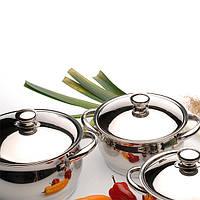 Набор посуды BergHOFF Cosmo из 12 предметов нержавеющая сталь