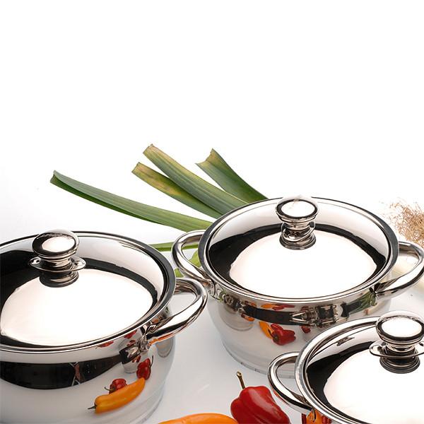 Набор посуды BergHOFF Cosmo из 12 предметов нержавеющая сталь  - Магазин Кошара в Киеве