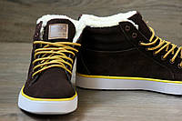 Зимние ботинки мужские адидас туфли