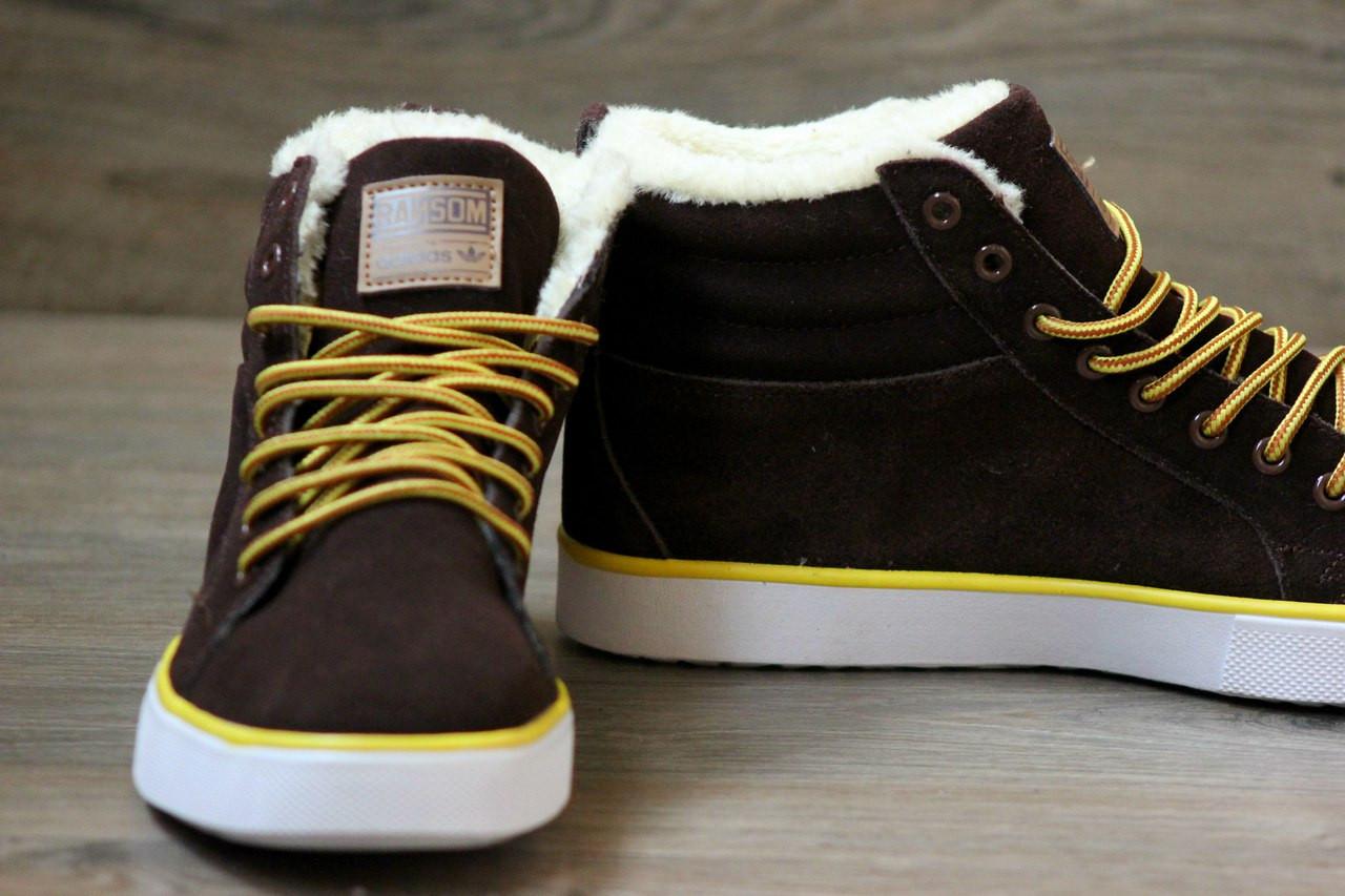 Купить мужские зимние кроссовки adidas originals мужские. зимние ботинки  мужские адидас фото d4857d15554