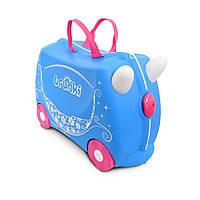 Чемодан детский на колесах Pearl The Princess Carriage (Жемчужная карета)