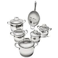 Набор посуды BergHOFF Zeno из 12 предметов  нержавеющая сталь