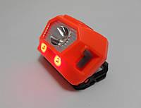 Фонарь налобный BL 9880 2+1 ультракомпактный USB + 2 красных диода (Cree 200 люмен), фото 1
