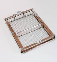 Кассета нержавеющая  (сетка оцинкованная, периметр нержавейка) крепление по центру , фото 1