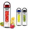 Стильная бутылочка Fruit bottle с емкостью для фруктов (Фрут ботл)